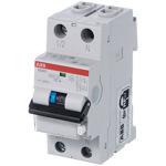 Выключатель автоматический дифференциального тока (АВДТ) 1п+N 10А 30мА C AC (DS201 C10 AC30)