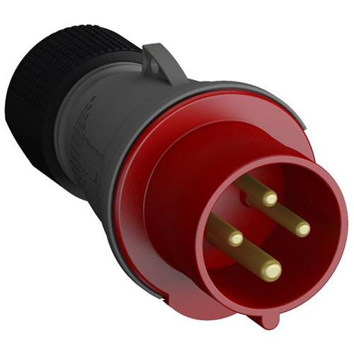 Вилка кабельная 16А 3P+E, IP44, 6ч Easy&Safe (316EP6)