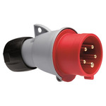 Вилка кабельная 16А 3Р+N+E IР44 переносная 415В ICAT (416-P6)
