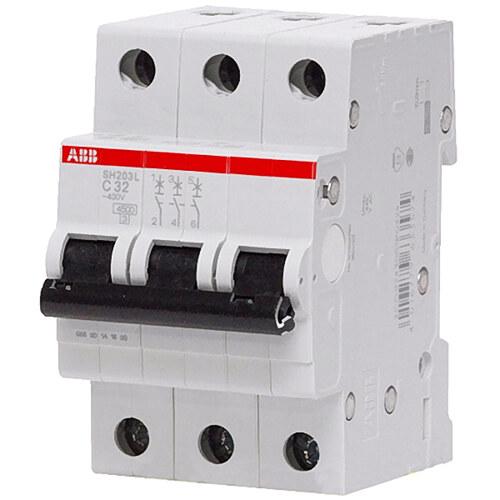 Выключатель автоматический 3п (трехполюсный) 63А С 4.5кА (SH203L C63)