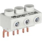 Колодка плоская для трехфазного кабеля до 25мм.кв 65А к автоматам типа MS116/132 S1-M1-25