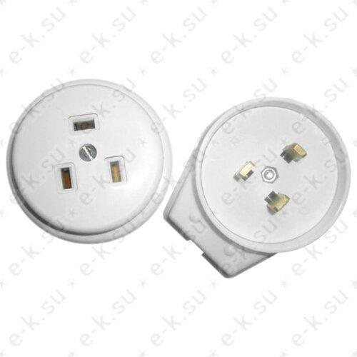 Разъем силовой 40А для электроплит (РА40-031/В40-031) ЭлКис