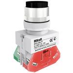 Кнопка ABLFP 22мм черная 220В ВK-22 (25018DEK)