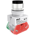 Выключатель кнопочный ВK-22 с фиксацией ABFP диам. 22мм черный 220В (25129DEK)