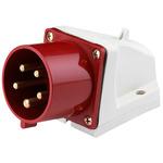 Вилка кабельная 32А 3Р+РЕ+N IP44 стационарная (26024DEK)