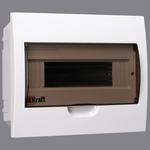 Щит распределительный встраиваемый ЩРВ-П-12 IP41 пластиковый прозрачная дверь