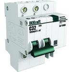 Выключатель автоматический дифференциального тока (АВДТ) 2п 10А 30мА 4.5кА С ДИФ-101 (15002DEK)