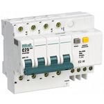 Выключатель автоматический дифференциального тока (АВДТ) 4п 10А 30мА 4.5кА АС С ДИФ-101 (15019DEK)