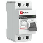 Выключатель дифференциального тока (УЗО) 2п 16А 30мА тип АС PROxima (elcb-2-16-30-em-pro)