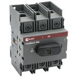 Рубильник 100A 3P c рукояткой управления для прямой установки TwinBlock EKF (tb-100-3p-f)