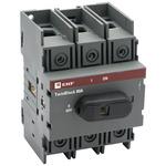 Рубильник 80A 3P c рукояткой управления для прямой установки TwinBlock EKF (tb-80-3p-f)