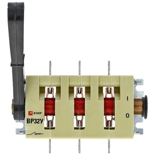 Выключатель-разъединитель ВР32У-35А71220 250А 2 направления с дугогасительными камерами несъемная левая/правая рукоятка MAXima PROxima