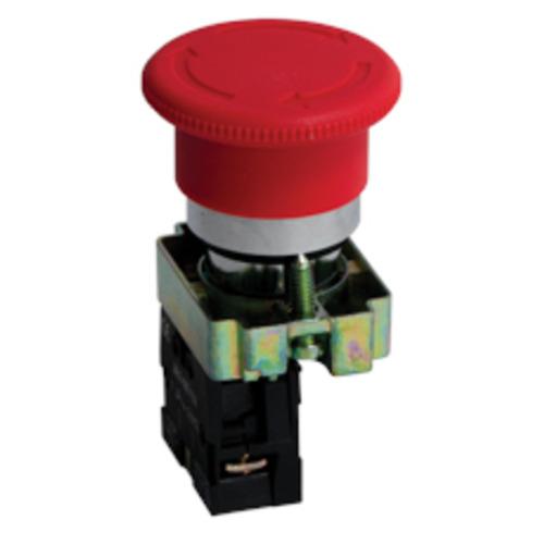 Кнопка BS542 поворотная красная грибок NC PROxima