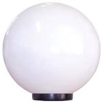 Светильник НТУ 06-60-01 опал пмма IP44 /корпус плоский черный ф60 ''Шар'' 250 Б