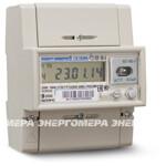 Счетчик электроэнергии однофазный многотарифный CE102M R5 145-A, 5(60)А, 230В, Т4, D, RS485, ЖК