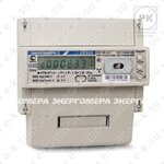 Счетчик электроэнергии трехфазный многотарифный CE303 R33 745 JAZ, 5(60)А, 3x230/400В, Т4, D+Щ, RS485, ЖК (101004003009113) Энергомера