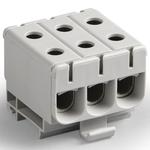 Блок клеммный 3П серый Al 6-50 мм2 Cu 2.5-50 мм2