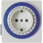 Розетка с таймером (суточная) механическая ТМ32 IP20 16А 3500W (23203) Feron