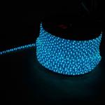 Дюралайт синий-белый 2,88Вт/м, 72LED/м, 220В, 3-х жильный, бухта 50м, LED-F3W
