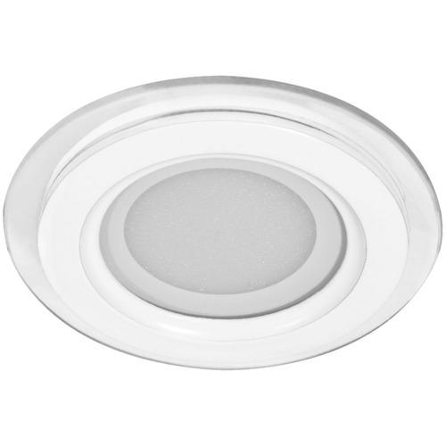 Светильник светодиодный ДВО-12w 4000K 960Лм со стеклом белый AL2110