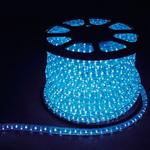 Дюралайт светодиодный LEDх36/м синий двухжильный кратно 2м бухта 100м LED-R