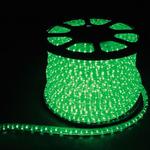 Дюралайт светодиодный LEDх72/м зеленый трехжильный кратно 2м бухта 50м LED-F