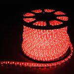 Дюралайт светодиодный LEDх36/м красный двухжильный кратно 2м бухта 100м LED-R