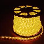 Дюралайт светодиодный LEDх36/м желтый двухжильный кратно 2м бухта 100м LED-R