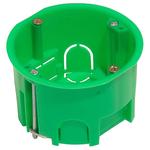 Коробка установочная 68х40мм металлические лапки гипсокартон