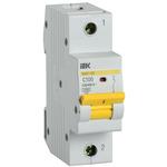 Выключатель автоматический 1п (однополюсный) 100А C 15кА ВА47-150 (MVA50-1-100-C) IEK/ИЭК
