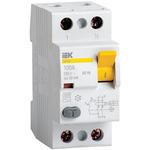 Выключатель дифференциального тока (УЗО) 2п 16А 10мА тип АС ВД1-63