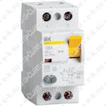 Выключатель дифференциального тока (УЗО) 2п 100А 300мА тип AC ВД1-63 (MDV10-2-100-300)