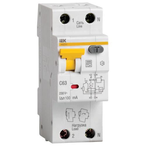 Выключатель автоматический дифференциальный АВДТ32 1п+N 16А 30мА С