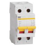 Выключатель нагрузки (мини-рубильник) 2п ВН-32 100А IEK (MNV10-2-100)