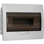 Щит распределительный встраиваемый ЩРв-П-12 IP41 пластиковый белый прозрачная дверь