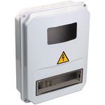 Щит учетно-распределительный навесной ЩУРн-П 3/10 пластиковый IP55 (MSP310-3-55)