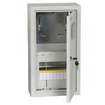 Щит учетно-распределительный навесной ЩУРн-1/9зо IP31 замок окно