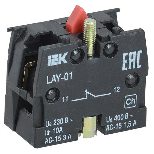 Блок контактный 1р для серии LAY5