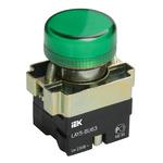 Индикатор LAY5-BU63 зеленого цвета диам. 22мм (BLS50-BU-K06)