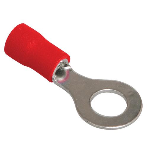 Наконечник кольцевой изолированный НКИ 1.25-4 красный (100шт)
