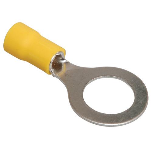 Наконечник кольцевой изолированный НКИ 5.5-8 кольцо 4-6 мм желтый (100шт)