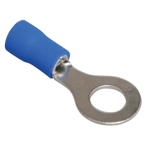 Наконечник кольцевой изолированный НКИ 2.5-6 синий (100шт)