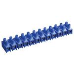 Зажим винтовой ЗВИ-10 2.5-6 мм.кв. 12пар не поддерживающий горение синий (UZV6-010-06)