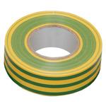Изолента ПВХ 15мм желто-зеленая 10м