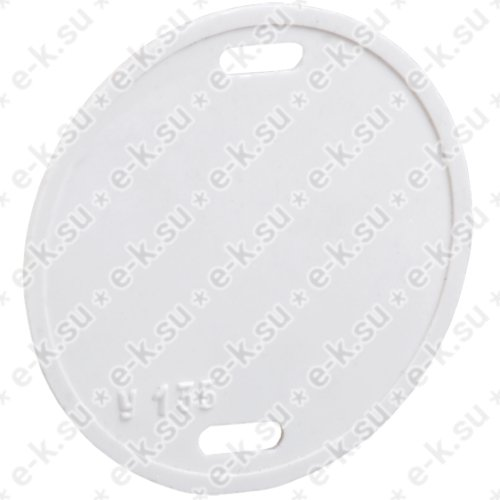 Бирка кабельная У-135 круг 55 мм