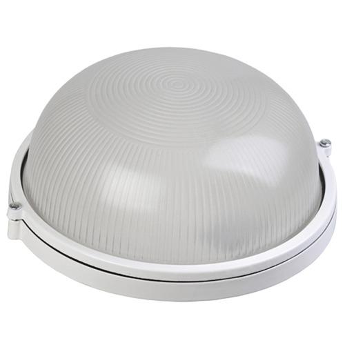Светильник НПП-60w круглый термостойкий без решетки IP54 (1301 бел.)