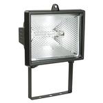 Прожектор ИО-500Вт симметричный черный IP54