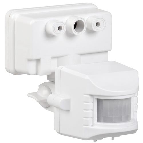 Датчик движения ИК для прожектора 150-500w 120 гр. 12м IP44 белый (ДД 019 бел.)