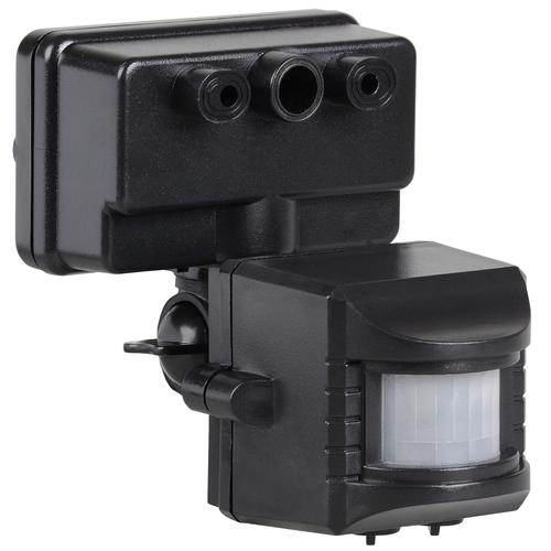 Датчик движения ИК для прожектора 150-500w 120 гр. 12м IP44 черный (ДД 019 чер.)