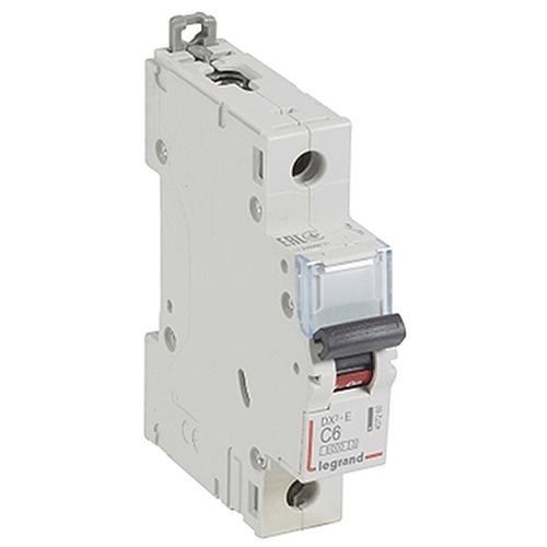 Выключатель автоматический 1п (однополюсный) 6А C 6кА DX3-E